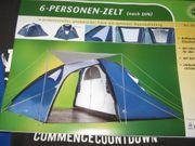 NEU-FAMILIENZELT-STEILWANDZELT-ZELTE-4-8PERSONNEN-AB 79 -290 -PRO ZELT