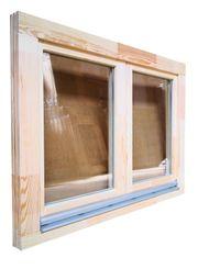 Holzfenster 120x90 cm bxh Europrofil