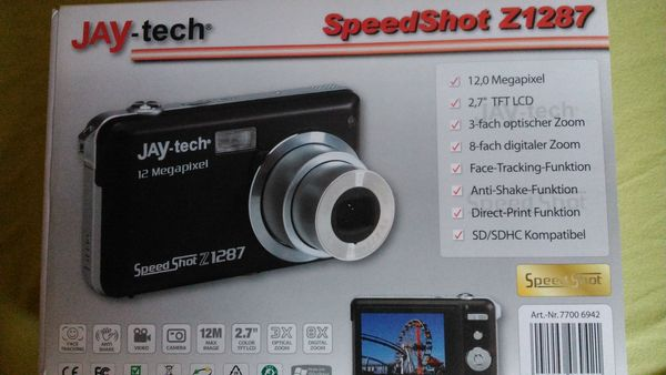 Jay Tech Camera 12 Megepixel