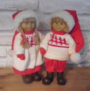 Puppenpärchen Winterkinder
