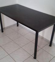 Schreibtisch Computertisch Esstisch Tisch schwarz