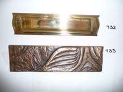 Briefeinwurf Bronze Schäfer 290 82mm