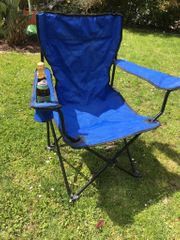 Camping-Regie-Stuhl