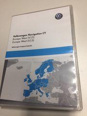 Original VW Navigations-DVD Europa West
