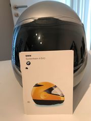 BMW Systemhelm 4 silber