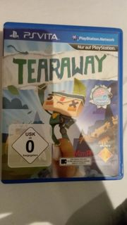 Tearaway PS Vita PSP Playstation
