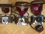 3 alte Fotoapparate je 50