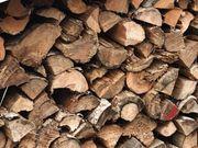 Kaminholz Brennholz gespalten gesägt