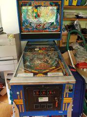 Flipperautomat WILLIAM LASERCUE original 1984 -
