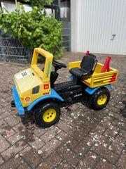 Tretfahrzeug Rolly Toys Jeep Mercedes