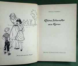 Deutscher Literaturpreis 1956 - Kleine Schwester: Kleinanzeigen aus Niederfischbach - Rubrik Allgemeine Literatur und Romane