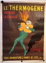 Altes Reklame Plakat Le Thermogene