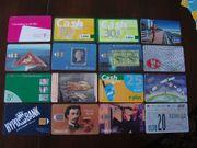 Telefonkarten zum Sammeln Konvolut 4