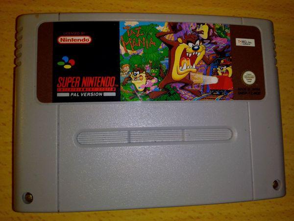 Super Nintendo Taz Mania