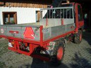 Transporter Schlepper Traktor Aebi TP