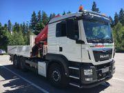 Transport von Baumaschinen Landmaschinen Container