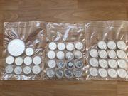 50 Unzen Silbermünzen - Diverse