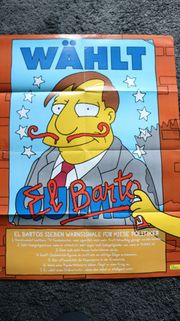 The Simpsons Poster größer als