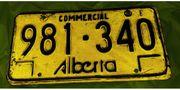 Kanadische Nummertafel