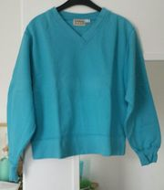 Türkiser Sweater