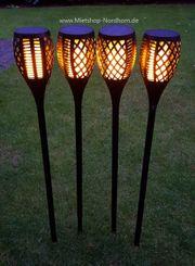 Gartenfackeln LED mieten in Nordhorn