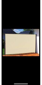 Seitenmarkise für Terrasse oder Balkon