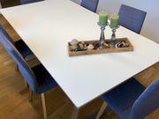 Hochwertiger Besprechungstisch Küchentisch 6 Stühle