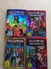 4 Monster High DVDs