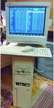Computer Pentium MMX -- 233