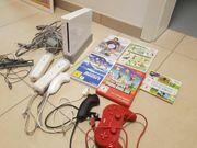 Wii KONSOLE 5 SPIELEN ANGEBOT