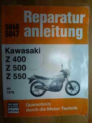 Reparaturanleitung 5046 5047 Kawasaki Z