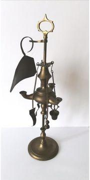 Öllampe Petroleum Florentiner 3 Flammen