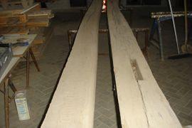 Holz - Altes Eichenholz mit und ohne