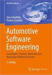 automotive software engineering 5 Auflage