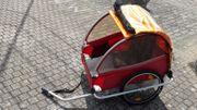 Original Kindercar Fahrradanhänger für zwei