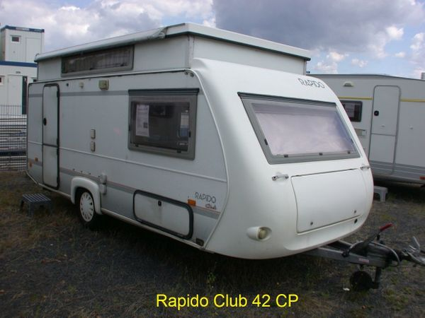 Rapido Club 42 CP Hubdach