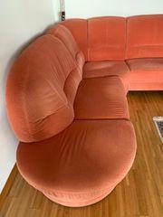 Couchgarnitur mit Abschlußelement Relax-Sessel