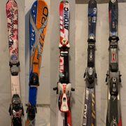 Ski mit Ausrüstung