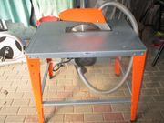 Neuwertige Brennholz - Tischkreissäge Atika HT