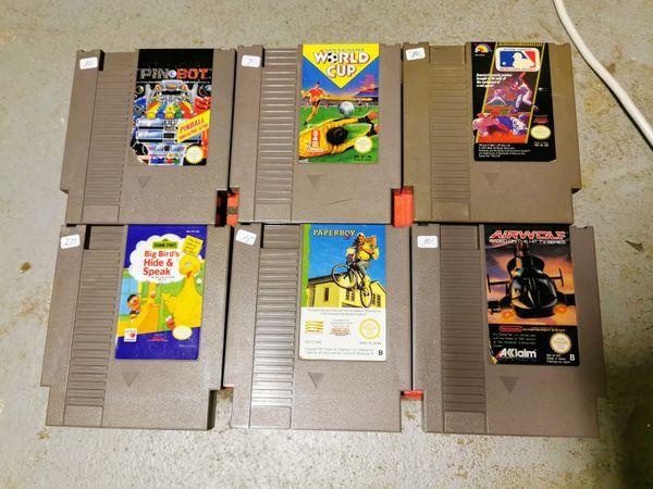 Nintendo NES Spiele