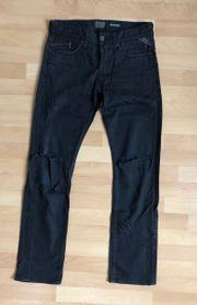 Schwarze Replay Jeans W 30