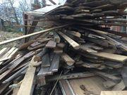 Bau- und Abrissholz