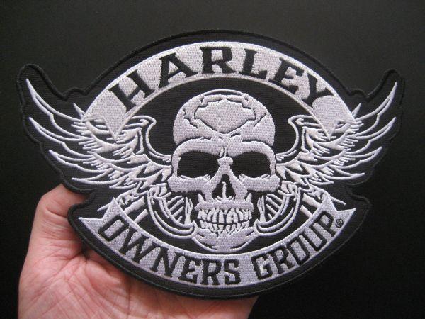 Neu Aufnäher Patch Aufbügler Harley