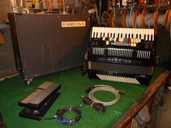 Farfisa Super Akkordeon Doppel Syntaccordion