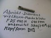 Schleifscheiben-Abrichtdiamant marke Winter unbenützt