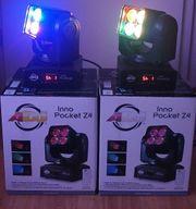 2x LED Moving Head ADJ