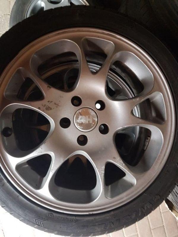 RH Alu Felgen 7x17 H2 - Zaberfeld - RH Alu Felgen 7 x 17 H2lochkreis 5 x110 Reifen sind nicht mehr zu gebrauchen - Zaberfeld