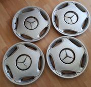 4 original Mercedes Benz Radkappen