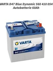VARTA D47 Blue Dynamic 560