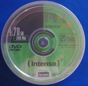 Intenso DVD-R Rohlinge 4 7